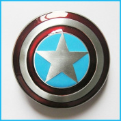 Brand:e & b New Western Star Captain America Shield Belt Buckle Ca-076