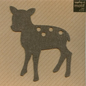 Deer Design Iron on Applique
