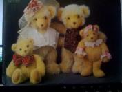 Vogue Bear Family 33cm & 24cm and Clothes