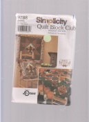 Simplicity Quilt Block Club 9788 ; Holiday Halloween & Thanksgiving