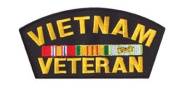 1280 Vietnam Veteran Patch