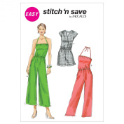 McCall's Patterns M6533 Misses' Jumpsuits in 2 Lengths, All Sizes