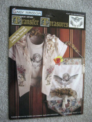 Daisy Kingdom Transfer Treasures - No-Sew Fabric Applique - Iron-on-Transfer- Floral Cherubs
