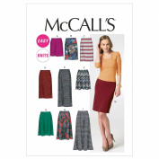 McCall's Patterns M6654 Misses' Skirts Sewing Template, Size E5