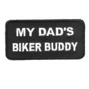 MY DAD'S BUDDY Quality Kids Biker Vest Patch Patches!!!
