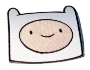 Adventure Time Cartoon Network Tv Show - Finn Face Logo Iron on Patch