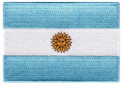 Argentina Flag Embroidered Patch Argentinian Iron-On National Emblem