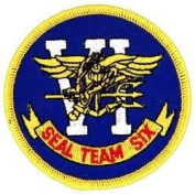 Seal Team 6 (Six) Small Patch - 10cm