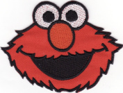 Elmo Sesame Street Cookie Monster Embroidered Iron on Patch