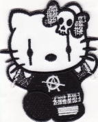 Hello Kitty Embroidered Iron on Patch H21