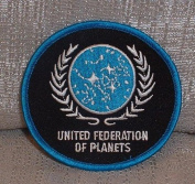 Star Trek TNG United Federation of Planets Logo PATCH