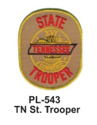 7.6cm State Police Embroidered Patch TN St. Trooper
