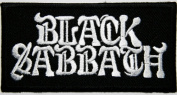 Black Sabbath 8.5x4.5 cm Music Band Patches Embroidered Iron on Patch