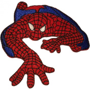 Spiderman Patches 7.5x6.5 Cm Super Hero Cartoon Patches Embroidered Iron on Patch