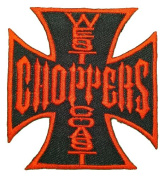 West Coast Choppers Custom Motorcycles Clothes Red Logo BW03 Patches