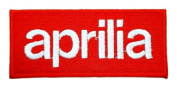 aprilia Logo Motorcycle Bikes Motard Polo Jackets BA03 Iron on Patches