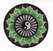 Om Mantra Nepal Symbol Embroidered Iron on Patch L2