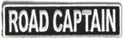 Road Captain Patch 8.9cm White