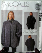 McCall's 8528 - Faux Chenille Misses Jacket by Nannette Holmberg