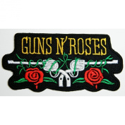 Guns N Roses patches 10x5 cm Rock Music Band Patches Embroidered iron/sew on Patch to Cloth, Jacket, Jean, Cap, T-shirt and Etc.