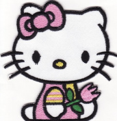 Hello Kitty Embroidered Iron on Patch H19