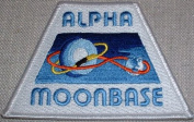 Space 1999 TV Series ALPHA MOONBASE Embroidered PATCH