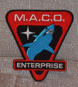 Star Trek Enterprise MACO Commandos Shark Logo PATCH