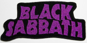 Black Sabbath 11.5x5 cm Music Band Patches Embroidered Iron on Patch