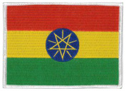 Ethiopia Flag Patch 12 X 9CM
