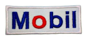 Mobil one 1 gas station synthetic Symbol GM04 Iron on Patches