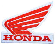 Honda Wing R/W Retro Motorcycles Dirt Bike Motocross BH06 Embroidered Patches