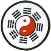 Tae Kwon Do Yin Yang Round 7.6cm Patch