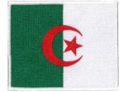 Algeria Flag Embroidered Patch 12 X 8.5CM