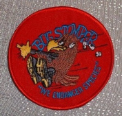 Aliens Movie Marines Drop Ship Bug Stomper Logo PATCH