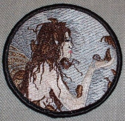 Amy Brown Fairy Autumn Whispers Embroidered PATCH