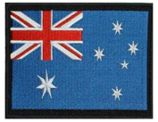 """Australia Embroidered Patch 13cm x 10cm (approx) 5"""" x 4"""""""