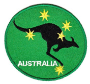 Australia Kangaroo Sew-on Iron-on Patches Embroidered Applique