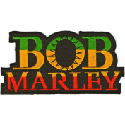 BOB Marley patches 11.4x4.4 cm Jamaique,Ska patches sew/iron on Patch to Cloth, Jacket, Jean, Cap, T-shirt and Etc.