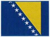 Bosnia Herzegovnia Flag Embroidered Patch 12 X 9CM