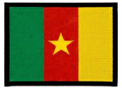 Cameroon Embroidered Patch 12cm X 9cm