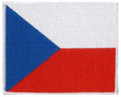 "Czech (embroidered) Patch 5""x 4"""