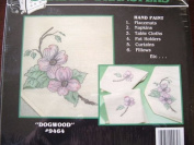 """""""Dogwood"""" IRON-ON SHADED TRANSFERS FOR HAND PAINTING"""