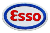 Esso Gas Stations Club Oil Tiger Sign Clothing GE02 Iron on Patches