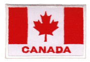 Flag Canada Sew-on Iron-on Patches Embroidered Applique