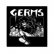 The Germs Skeleton In Leather Patch