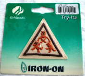 Girl Scouts Try Its Iron-On Patch 59101 Caring & Sharing