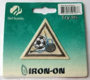 Girl Scouts Try Its Iron-On Patch 59107 Sports & Games