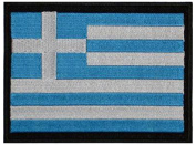 "Greece Embroidered Patch 13cm x 10cm (approx) 5"" x 4"""