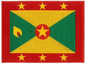 Grenada Flag Embroidered Patch 12 X 9CM