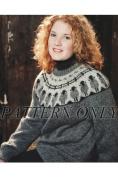 Sheep Go Round Sweater *Pattern*